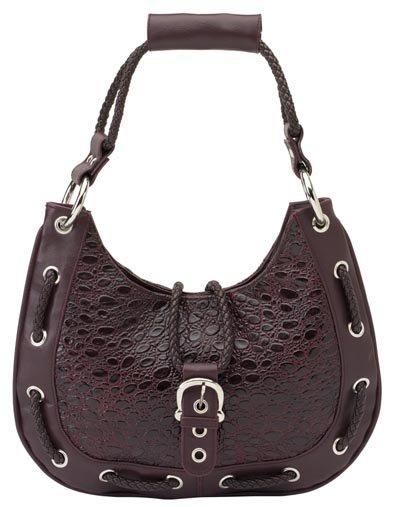 Ladies Burgundy Genuine Leather Purse