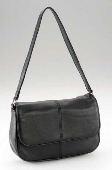 Maxam Brand Solid Genuine Lambskin Leather Shoulder Bag.