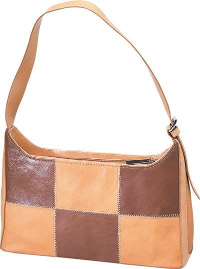Embassy 2-Tone Tan Genuine Solid Leather Purse.