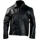 Casual Outfitters™ Hand-Sewn Pebble Grain Genuine Leather Jacket