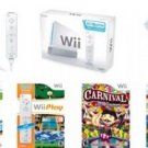 Nintendo Wii Gamers Bundle - With 53 Great Games And 4 Controllers!!Free Shipping!!