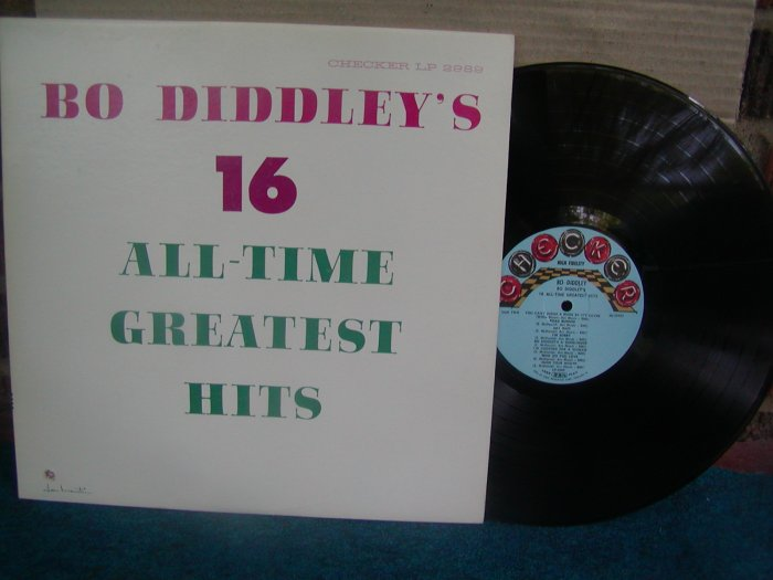 Bo Diddley-16 All Time Greatest Hits-Original US MONO LP VG++