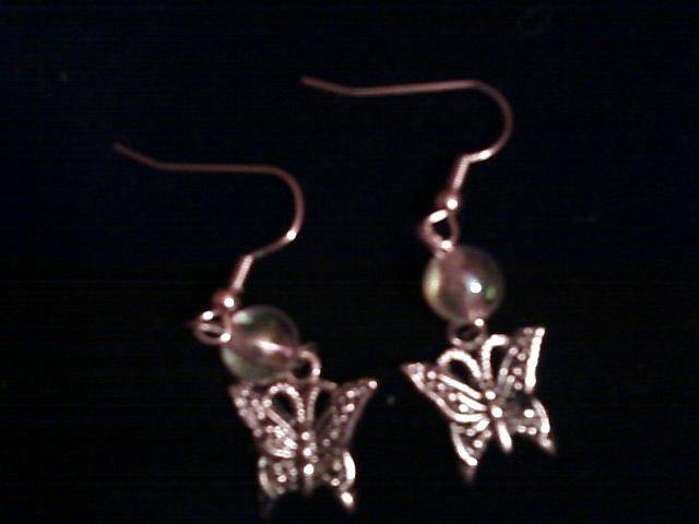 Butterfly Earrings.
