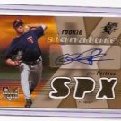 2007 SPx GLEN PERKINS Autograph Rookie