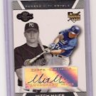 2007 Topps Co-Signers Mitch Maier RC Auto