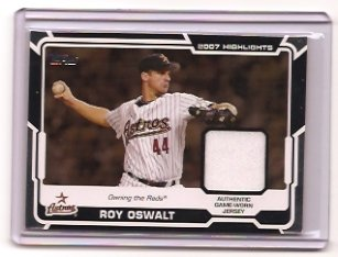2008 Topps Roy Oswalt 2007 Highlights Jersey
