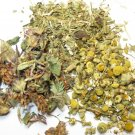 Passion Flower- Cut, Whole Red Clover and Chamomile Flower Bath Tea