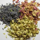 Jasmine Flower, Rose Petal and Lavender Bud Bath Tea