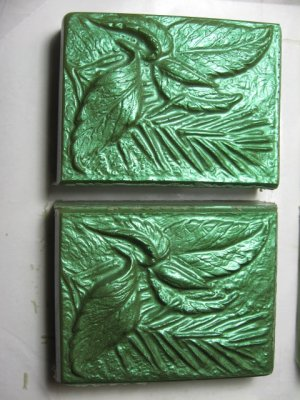 Peppermint Leaves Silk and Shea Butter Glycerin Soap