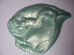 Mermaids 1 Juniper Berry Aloe and Olive Oil Glycerin Soap