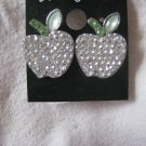 CHILDRENS WHITE EARRINGS