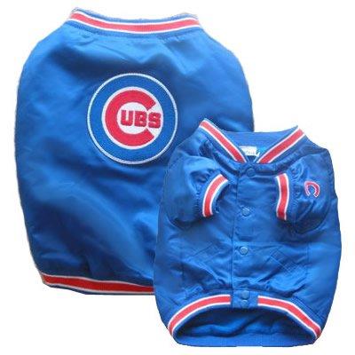 Cubs Windbreaker Jacket (Dugout Style) (Medium)