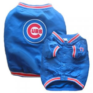 Cubs Windbreaker Jacket (Dugout Style) (Large)