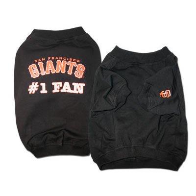 Giants #1 Fan T-Shirt (X-Large)