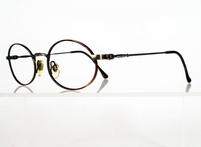 ANNE KLEIN II 6007 K1059-S Antique Gold Wire Frames