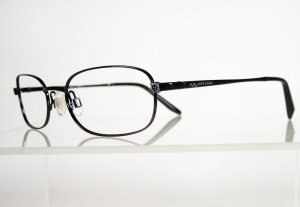 ANNE KLEIN 6112 Black Eyeglass Frames