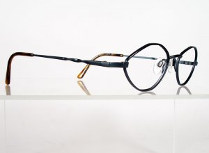 SILHOUETTE 6357 Blue Grey Eyeglass Frames