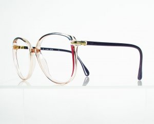 SILHOUETTE 1751 Purple and Fuchsia Eyeglass Frames
