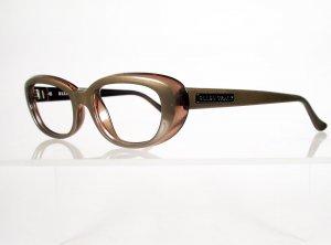 ELLEN TRACY 622 Metallic Bronze Eyeglass Frames