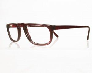 OLEG CASSINI 305 Red Crystal Eyeglass Frames
