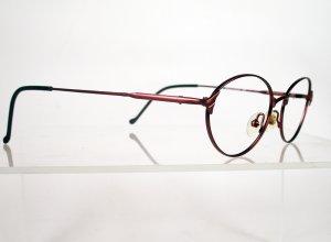SAFILO Elasta 4631 Wine Metal Eyeglass Frames