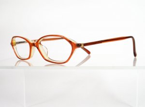 DAKOTA D73 Burnt Orange Eyeglass Frames