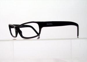 BROOKS BROTHERS 626 Black Wraparound Eyeglass Frames