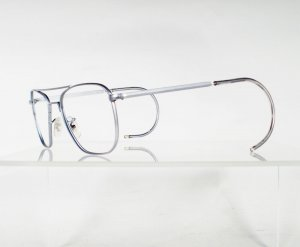 AMERICAN OPTICAL Chrome Aviator Eyeglass Frames