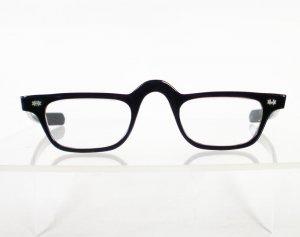 1950s PATHWAY Black Half-Glasses