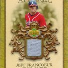 2007 Upper Deck Artifacts Jeff Francoeur gu 054/199