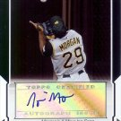 2008 topps Nyjer Morgan autograph