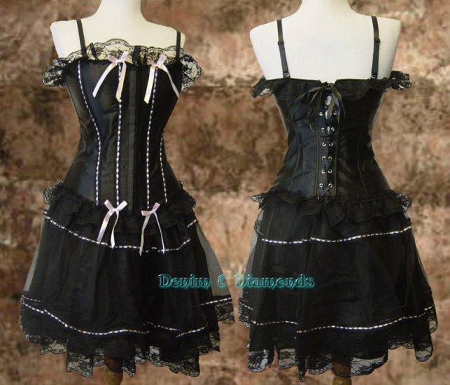 Sexy Lolita/Anime Cosplay Costume Corset & Skirt M