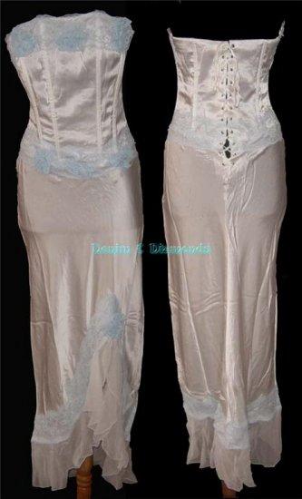 L~ Silk Corset Dress