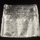 O/S- Silver Sequin Mini Skirt or Tube Top