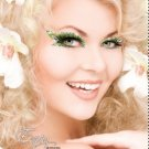 Exotic Xotic Eyes Theatrical Glitter & Crystal Eye Make Up Kit-Envy