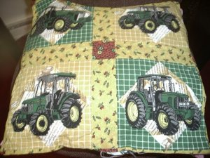 John Deere Toss Pillow