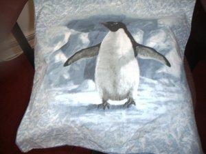 Penguin Toss Pillow
