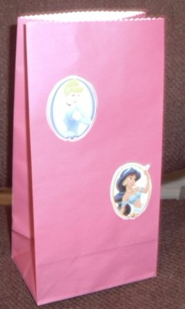 Disney Princess Colored Lunch Bag