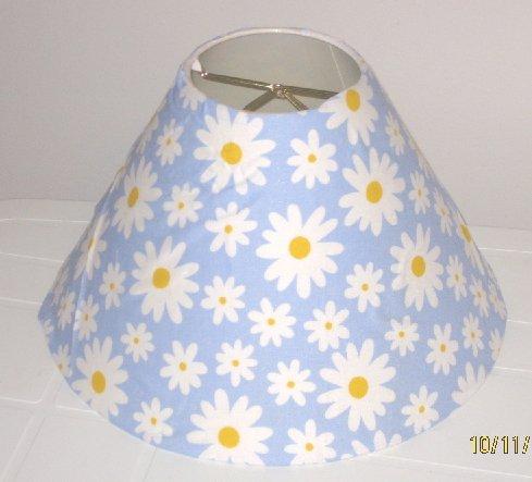 Blue Daisy Lamp Shade