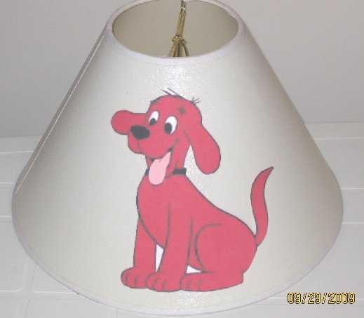 Clifford the Big Red Dog Lamp Shade