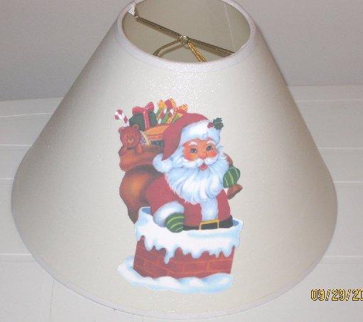 Santa Lamp Shade