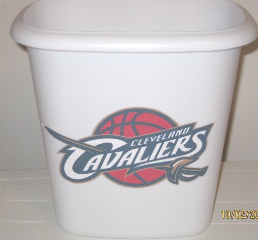 Cleveland Cavaliers Trash Can