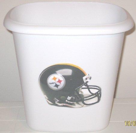Pittsburg Steelers Trash Can