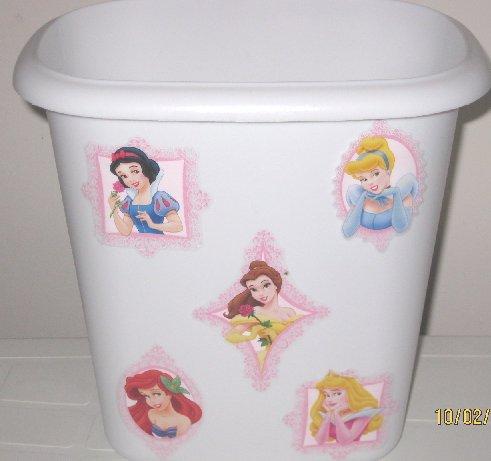 Disney Princess Trash Can
