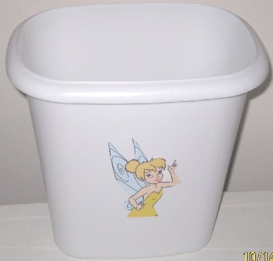 Tinkerbell Fairy Trash Can
