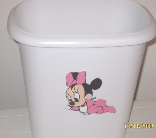 Disney Babies Minnie Mouse Trash Can