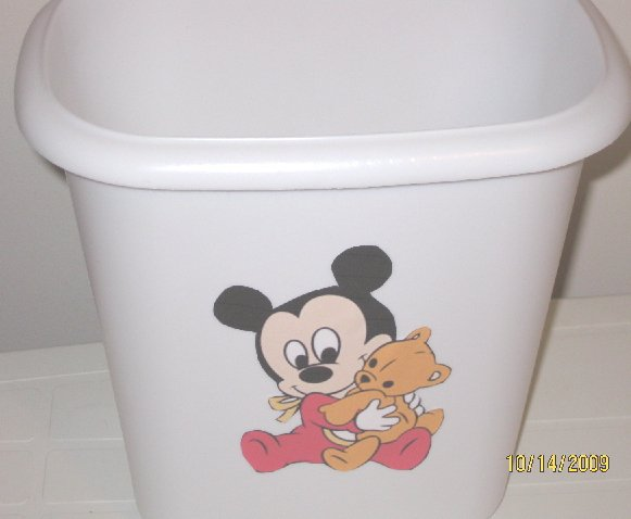 Disney Babies Mickey Mouse Trash Can