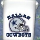 Dallas Cowboys Trash Can