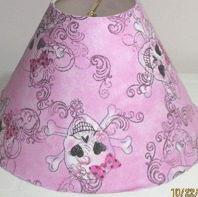 Gothic Princess Skulls Lamp Shade