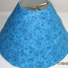 Blue Turquoise Sparkly Lamp Shade